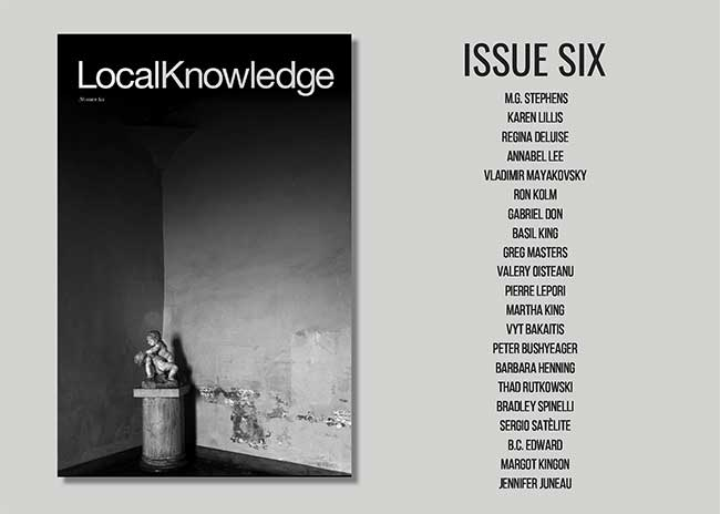 ISSUE SIX announcement 650